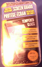 Tempered Glass Clear Screen Protector for Iphone 6 &6S- Anti-Fingerprint Coating