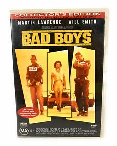 Bad Boys Collector's Edition DVD Will Smith Martin Lawrence - Region 4 Free Post