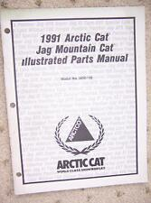 1991 Arctic Cat Snowmobile Jag Mountain Cat Parts   F