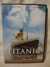 TITANIC DVD Leonardo DiCaprio Kate Winslet 1999 Sensormatic Widescreen w/ Insert