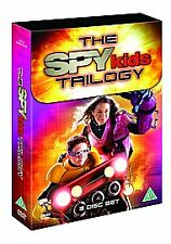 Spy Kids Trilogy [DVD] - DVD 3 Film Box Set. Vgc, Freepost In Uk. Region 2 Uk.
