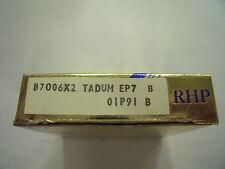 NEW RHP B7006X2TADUMEP7 Single row angular contact ball bearing