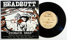 HEADBUTT 45 Stomach Swab PIGBOY Experimental NOISE Picture Sleeve UK PRESS #A574