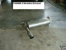 JDM TANABE Honda civic EF9 Exhaust muffler CRX EF8 EF G Power sedan medalion