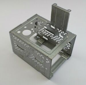 "HP 5003-0656 MicroTower Dual 3.5"" Hard Drive Caddy HDD Cage Bracket"