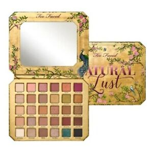 Too Faced Natural Lust Naturally Sexy Eyeshadow Palette 30 Shades 100% Authentic
