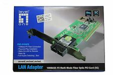 New OEM Dell FNC-0104FX Multi-Mode Fiber Optic PCI Card - G767R