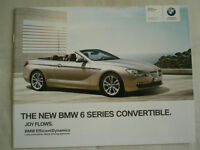 BMW 6 Series Convertible range brochure 2010 ed 2 small format