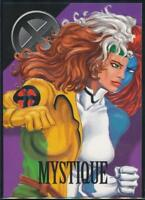 1996 Marvel Vision Trading Card #45 Mystique