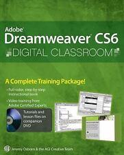 Digital Classroom: Adobe Dreamweaver CS6 115 by AGI Creative Team