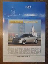 LADA ROADSTER orig 2001-02 French Text Sales Leaflet Brochure - AVTOVAZ AUTOVAZ