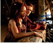 NAOMIE HARRIS signed autographed PIRATES OF THE CARIBBEAN TIA DALMA photo