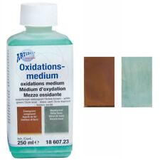 NEU Oxidationsmedium blaugrün-mittelbraun, 250ml