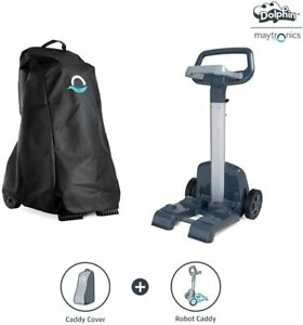 DOLPHIN Robotic Pool Vacuum Cleaner Universal Caddy and Premium Caddy Cover