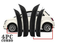 4PCS Smoke FRONT + REAR Bumper Side Marker Reflector Lights For 2011-17 Fiat 500
