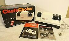 Chef's Choice 110 Diamond Hone Knife Sharpener In Box w/Booklet Ln Barely Used