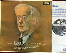 SXL 6006 Wbg 1st HOLST 'The Hymn of Jesus' BOULT LP NM/EX