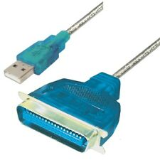 USB A Stecker Centronics Parallel Adapter Kabel IEEE 1284 LPT Drucker ucb