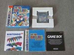Super Mario Bros Deluxe Brothers Game Boy GameBoy Color GBC Nintendo EUR CIB OVP