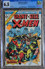 X-men Giant Size 1 CGC 6.5 White Pages!