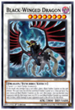 Black-Winged Dragon LED3-EN028 1st Common YUGIOH