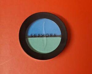 Sephora Eyeshadow Duo in TROPICAL BLUE Full Size .10oz/3ml SEALED