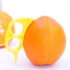 Mouse Shape Fruit Lemon Orange Citrus Opener Peeler Plastic Slicer Cutter 10 Pcs