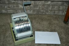 WORKING Vintage Hedman Co. Series 950 Check Protector Writer VG-EXCL COND!!!