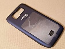 New (Never Used) Nokia Oem Back Cover Battery Door Housing for E63 - Blue