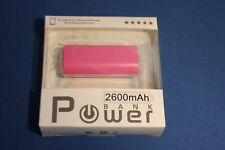 2600mAh USB Portable battery charger power bank metal