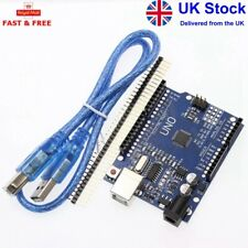 Arduino Uno - Compatible Dev. Board R3 Rev3 ATMEGA328P CH340G - FREE USB CABLE