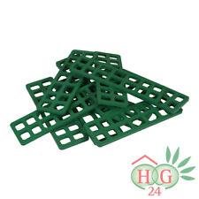 250 Inovatec Gitterklötze 160x50x5mm grün Lastabtragung Montage Ausgleich NEU