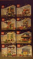 LEGO All 8 Bricktober Mini Modular Sets Toys R Us Exclusive NIB