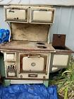 The Great Majestic Wood Stove (1900s) antique, old west, rustic, cabin, stove