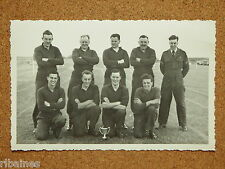 Unknown Regiment Army/RAF Athletics Team Photo & Trophy 1950s
