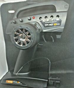rc car transmitter + receiver HPI TF-40 2.4GHz  RF-40 3ch