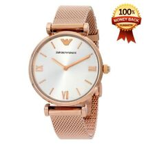 GENUINE BRAND NEW EMPORIO ARMANI AR1956 ROSE GOLD STAINLESS STEEL LADIES WATCH