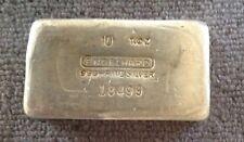 Engelhard 10 T. OZ Silver Bar #18499   2500 Mintage Per AE