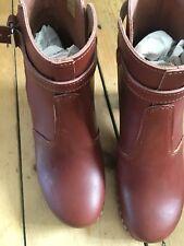 Swedish Hasbeens Jodphur Boots Colour: Cognac/ Cognac Sole, Size 38/5