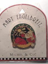 1999 Mary Engelbreit Santa Claus Pin Enamel New