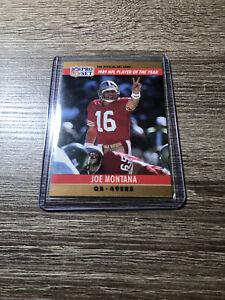 1990 Pro Set #2 Joe Montana (J.Kelly 3,521 Error Yards)