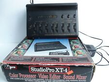 VidPro StudioPro XT-4 Color Processor-Video Editor-Sound Mixer Model DA-7
