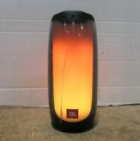JBL Pulse 4  Portable IPX7 Waterproof 4.2 Bluetooth LED Speaker - CRACKED FRONT