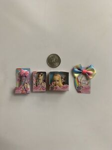 Toy Series Mini Brands JoJo Lot of 4 - Styling Head/ Microphone