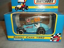 DONNIE KREITZ JR SCHNEE RACING MATCHBOX NUTMEG SPRINT CAR GOODYEAR