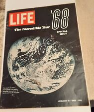 1969 Jan 10 Life Magazine, Special Issue: The Incredible Year '68