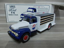 """First Gear 1/34 - FORD f-6 Bottler'S CAMION 1951 """"Pepsi Cola"""""""