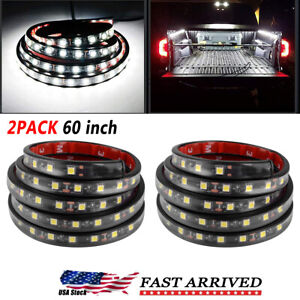"""2X 60"""" LED TRUCK CARGO BED LIGHT STRIP KIT FIT FOR CHEVY FORD DODGE GMC BOAT"""