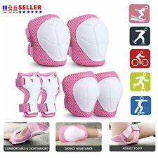 Adjustable Kids Protective Gear Knee Pads Elbow Pad 6 In1 Set With Wrist Guard
