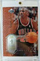 1999 99 UPPER DECK LEGENDS Michael Jordan SAMPLE PROMO #1, EMBOSSED FOIL CARD